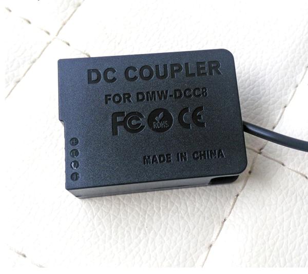 Манекен аккумуляторной батареей DMW-DCC8 (пустышка) с переходником USB