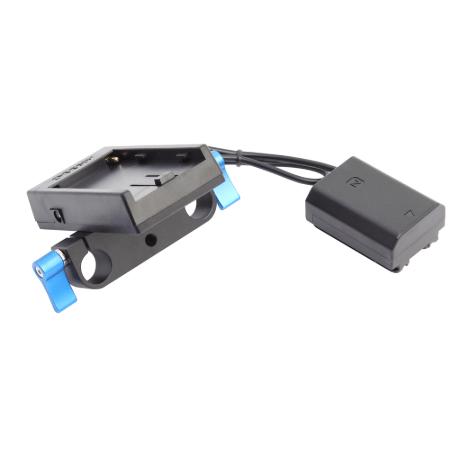 Адаптер аккумулятора NP-FZ100 для питания от NP-F970 для камер Sony.