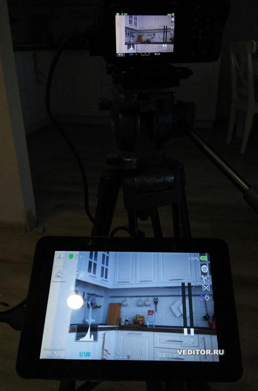 Накамерный монитор из планшета