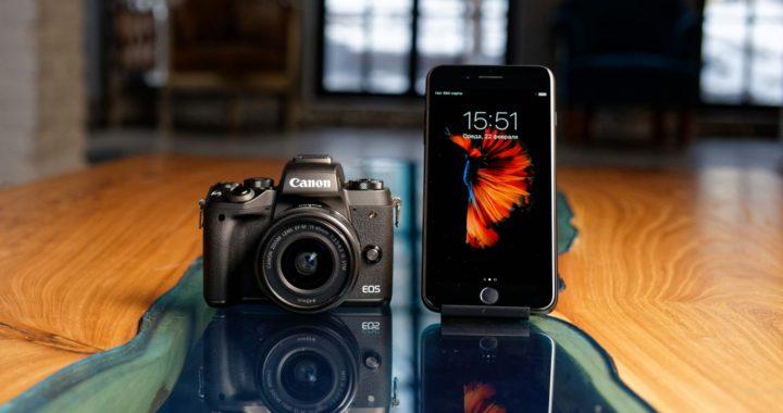 Мобильный против камеры