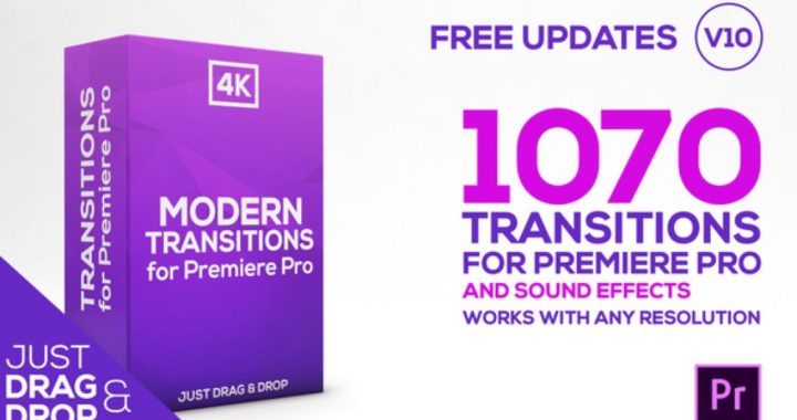 Modern Transitions For Premiere PRO