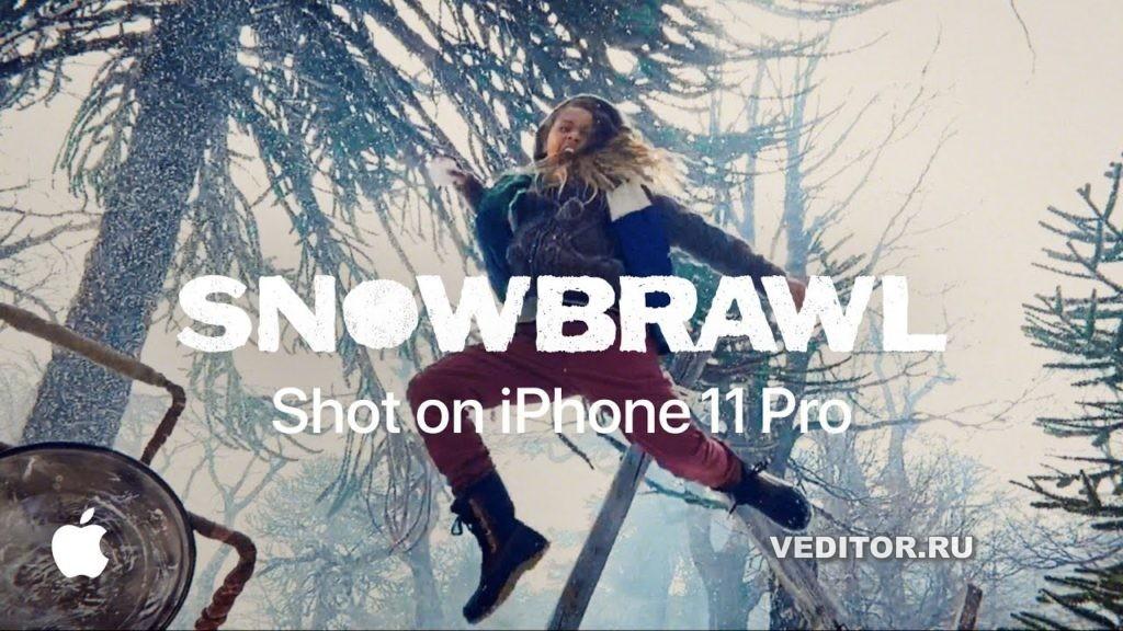 iPhone 11 pro Snowbrawl