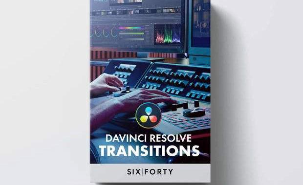 40 Transitions Pack for DaVinci Resolve