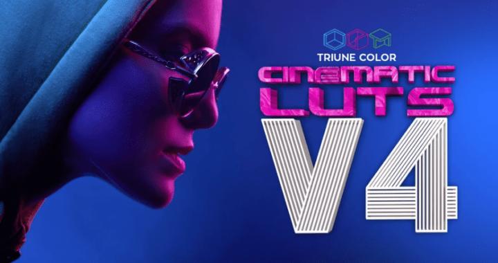 Triune Digital Cinematic LUTs Pack v4