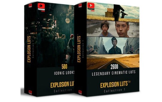 Explosion LUTs Collection